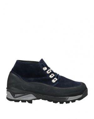 Кеды и кроссовки DIEMME. Цвет: темно-синий