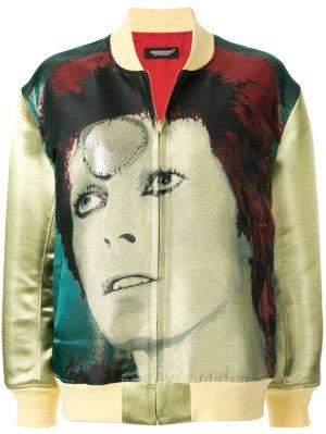 Куртка-бомбер Bowie UNDERCOVER. Цвет: зеленый