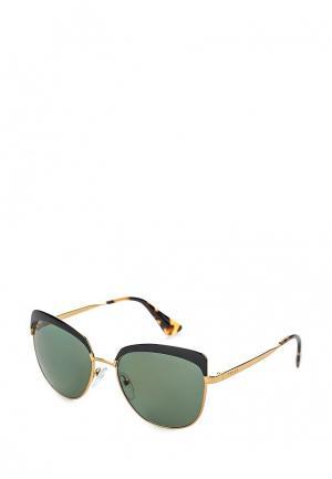 Очки солнцезащитные Prada PR 51TS LAX5X1. Цвет: золотой