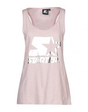 Майка STARTER. Цвет: розовый