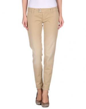 Повседневные брюки JCOLOR. Цвет: бежевый
