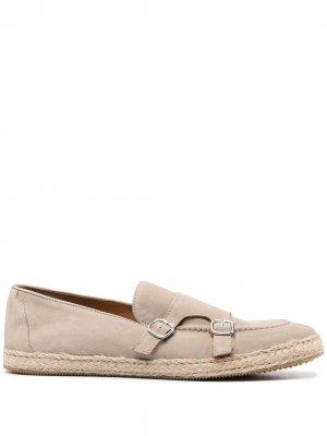 Doucals туфли монки Doucal's. Цвет: нейтральные цвета