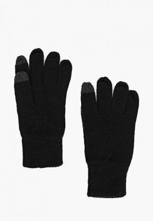 Перчатки Topman. Цвет: черный