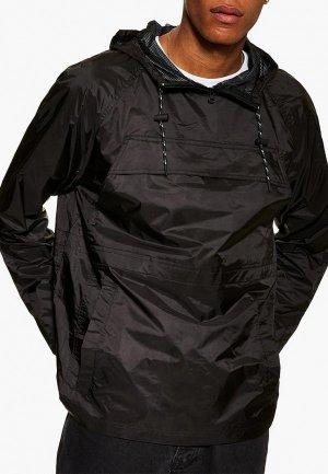 Ветровка Topman. Цвет: черный