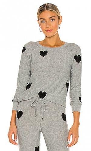 Пуловер Chaser. Цвет: серый