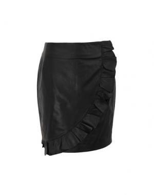 Юбка до колена 2ND DAY. Цвет: черный