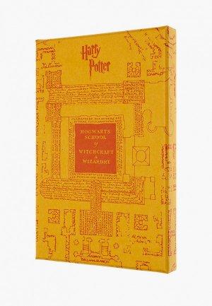 Блокнот Moleskine LIMITED EDITION HARRY POTTER. Цвет: желтый