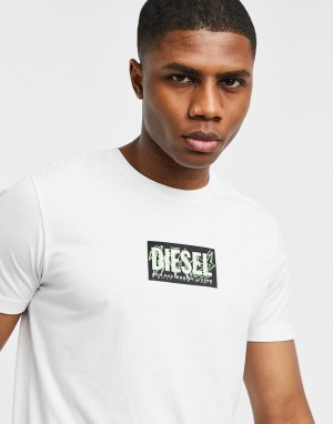 Белая футболка T-Diegos N34-Белый Diesel