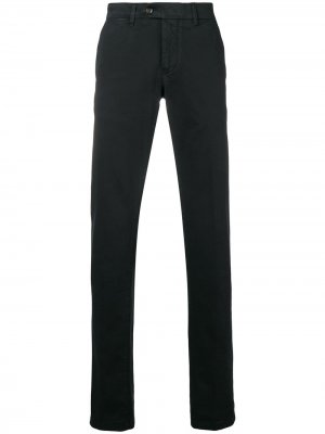 Классические брюки Corneliani. Цвет: черный