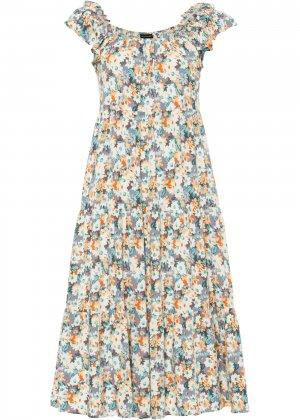 Платье bonprix. Цвет: корич-невый