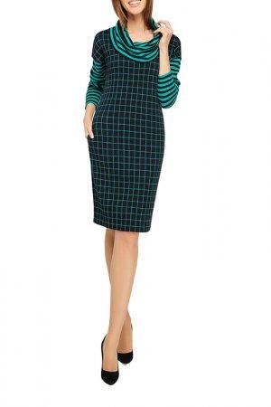 Платье Giulia Rossi. Цвет: зеленый, синий