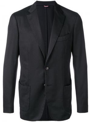 Delloglio классический пиджак Dell'oglio. Цвет: черный