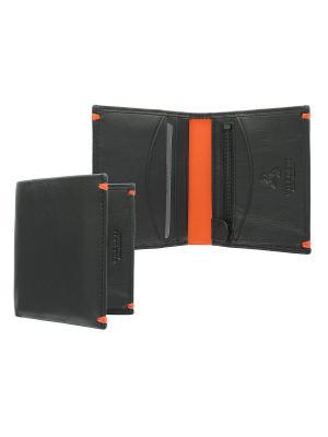 Бумажник Brig Visconti. Цвет: оранжевый