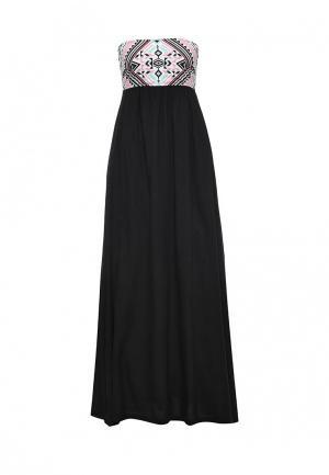 Платье Animal MILLIE. Цвет: черный