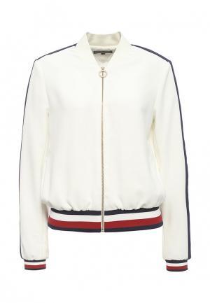 Куртка Tommy Hilfiger. Цвет: белый