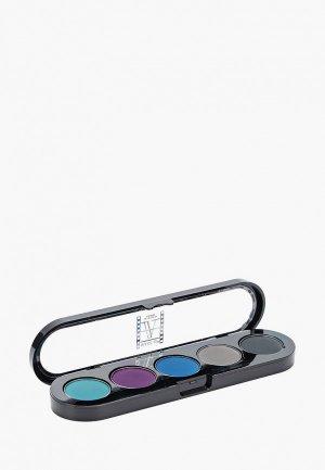 Палетка для глаз Make-up Atelier Paris. Цвет: разноцветный