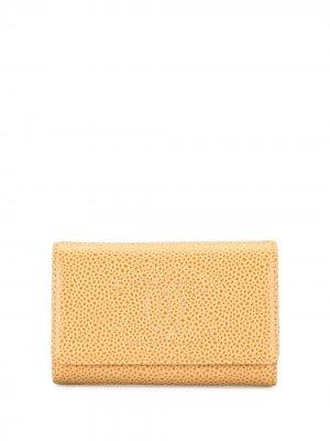 Ключница 2002-го года Chanel Pre-Owned. Цвет: коричневый