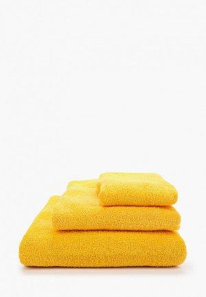 Набор полотенец HappyFox. Цвет: оранжевый