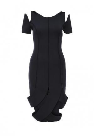 Платье D.VA DV003EWKKW71. Цвет: синий