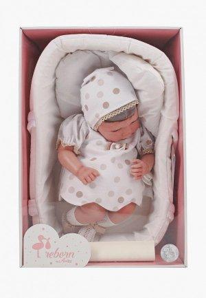 Пупс Arias ReBorns Candy реалистичные,  мягкое тело, новорождённый пупс, 40 см.. Цвет: разноцветный