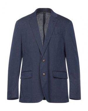 Пиджак J.CREW. Цвет: темно-синий