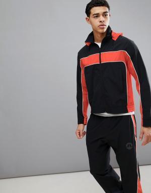 Темно-синяя мягкая куртка -Темно-синий J.Lindeberg Activewear