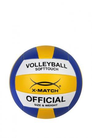 Мяч волейбольный, 1,6 PVC X-Match. Цвет: мультицвет