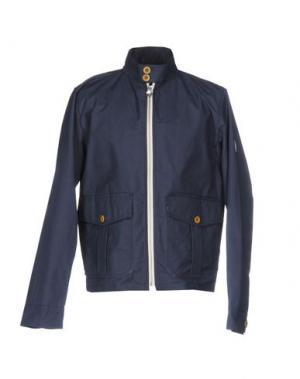 Куртка GLOVERALL. Цвет: синий