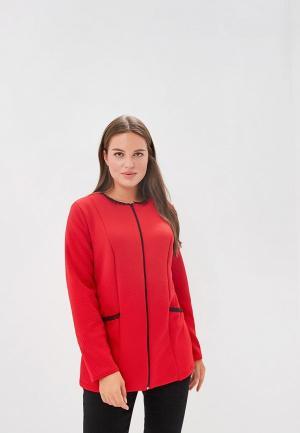 Жакет PreWoman Полина. Цвет: красный