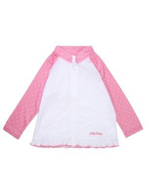 Куртка для плавания MIKI HOUSE. Цвет: разноцветный