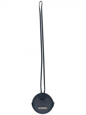 Кошелек Le Pitchou с ремешком Jacquemus. Цвет: синий