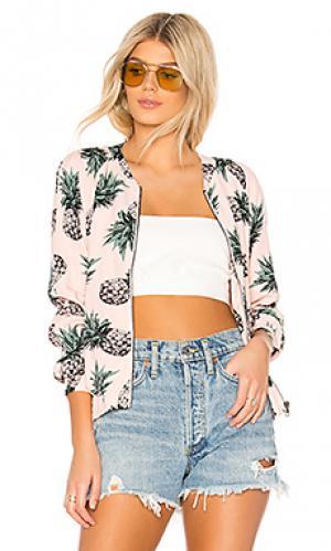 Куртка aylia BB Dakota. Цвет: розовый