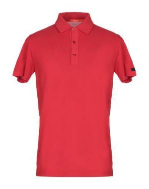 Поло RRD. Цвет: красный