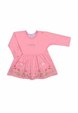 Платье Бимоша. Цвет: розовый