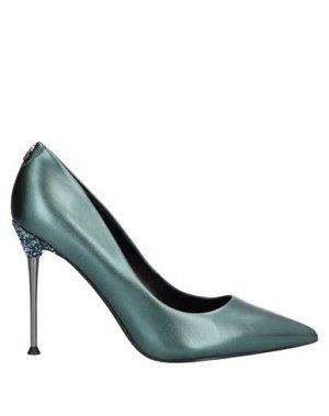 Туфли GUESS. Цвет: темно-зеленый