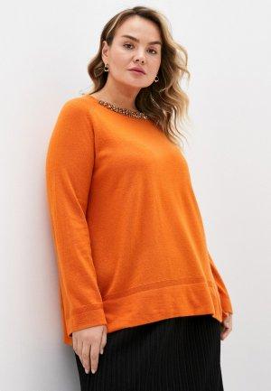 Джемпер Elena Miro. Цвет: оранжевый