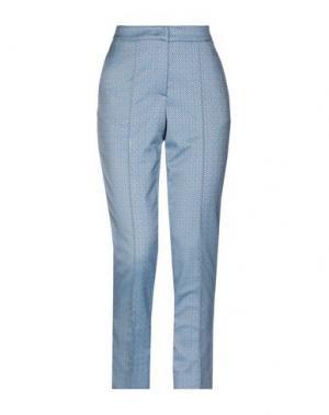 Повседневные брюки COLOMBO. Цвет: лазурный