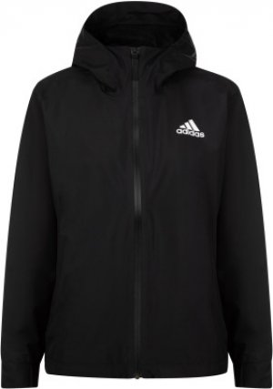 Ветровка женская adidas 3-Stripes RAIN.RDY, размер 46-48. Цвет: черный