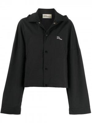 Водонепроницаемая куртка NFPM Drôle De Monsieur. Цвет: черный