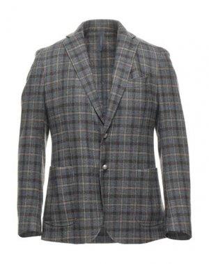 Пиджак TOMBOLINI. Цвет: свинцово-серый