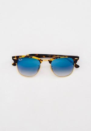 Очки солнцезащитные Ray-Ban® RB3016 13353F. Цвет: коричневый