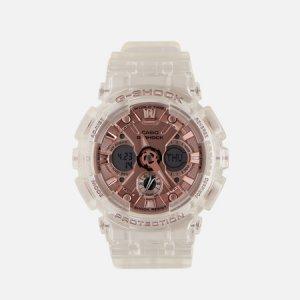 Наручные часы G-SHOCK GMA-S120SR-7AER S Series CASIO. Цвет: белый