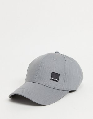 Серая кепка с небольшим логотипом -Серый Bench