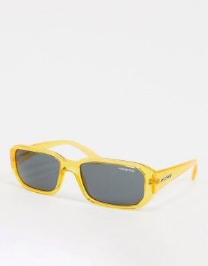 Желтые квадратные солнцезащитные очки x Post Malone-Желтый Arnette