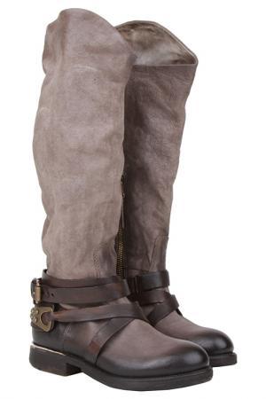 Сапоги Air Step. Цвет: коричневый