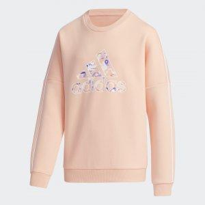 Джемпер CNY Performance adidas. Цвет: розовый