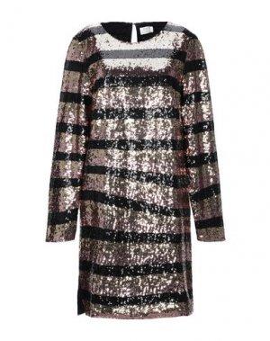 Короткое платье DAY BIRGER ET MIKKELSEN. Цвет: черный