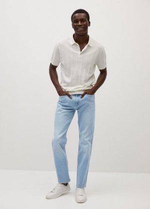 Прямые джинсы Bob из светлого денима - Bob7 Mango. Цвет: светло-синий