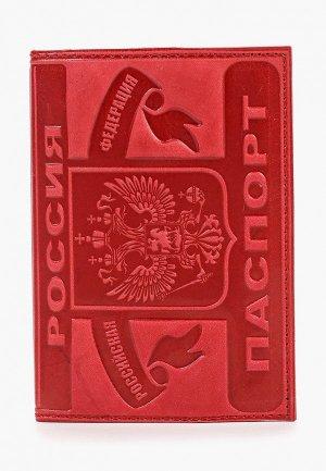 Обложка для паспорта Forte St.Petersburg. Цвет: красный