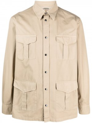 Легкая куртка Aspesi. Цвет: нейтральные цвета